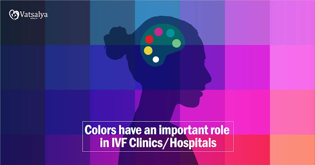 Colors have an important role in IVF Clinics Hospitals